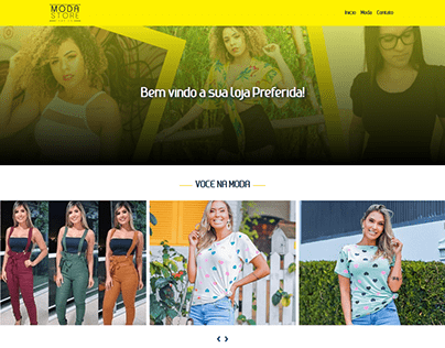 Site Moda Store Campinas
