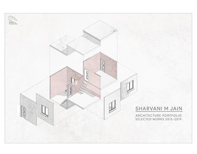 UNDERGRADUATE ARCHITECTURE PORTFOLIO| SHARVANI M JAIN