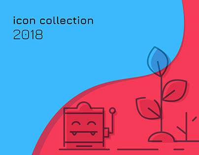 Line icon collection 2018