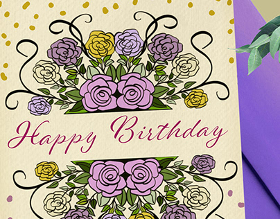 Greeting Card Floral Collection