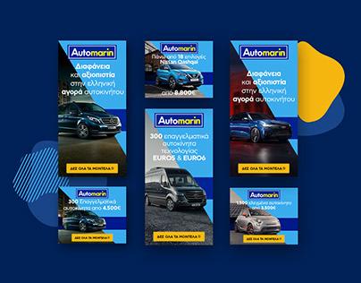 Automarin Google ads & Social media project 2018-2019