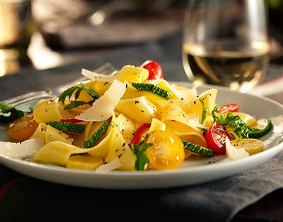 Pappardelle & Summer Vegetables