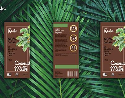 Raaka Chocolate Rebrand Packaging