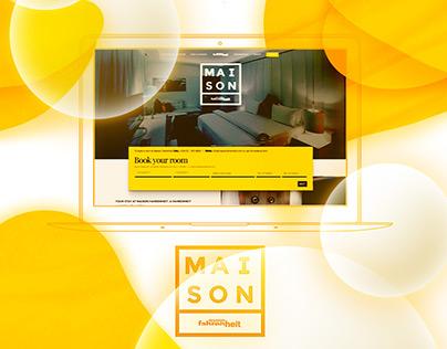 Maison Fahrenheit Website