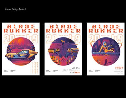 Blade Runner 2049 Poster Design