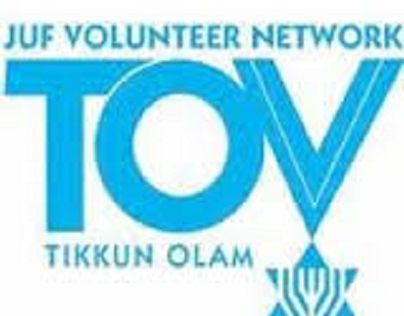 The JUF Tikkun Olam Volunteers and Local Synagogues