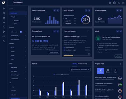 Multipurpose Bootstrap Admin Dashboard Template
