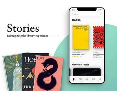 Stories — The library reimagined