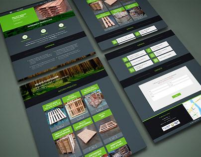 Diseño de sitio web Transpallets