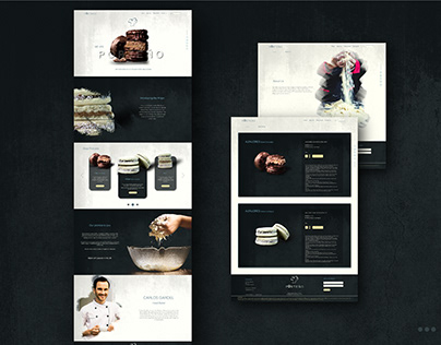 Concept Website Design For Porteno Artisan Bakery