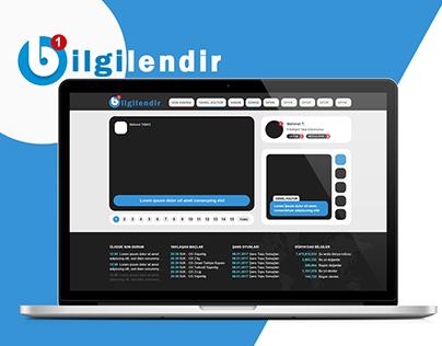 Bilgilendir - Magazine Web Template