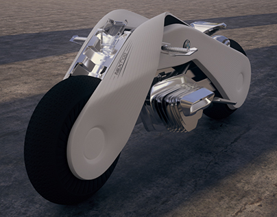 "White Tiger ""BMW Next 100 Motorcycle Concept"""