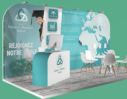 Stand event - DEBS - Graphiste Freelance - Nice