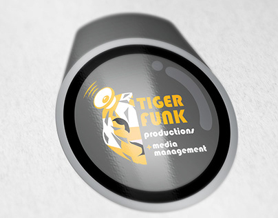 Tiger Funk Productions: Logo Design