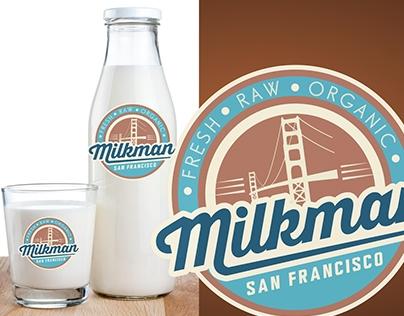 Milkman - brand identity