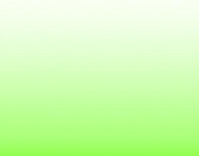 Objekt i grön himmel