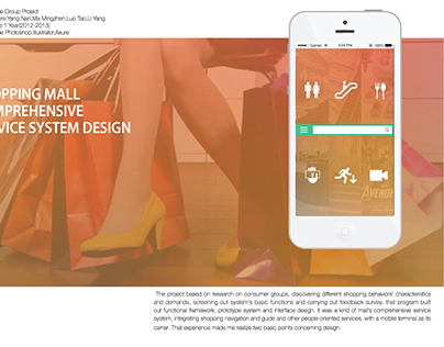 Shopping Mall Comprehensive Service System Design