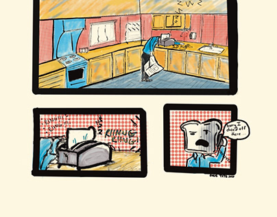 LOAFING AROUND COMIC 001-002