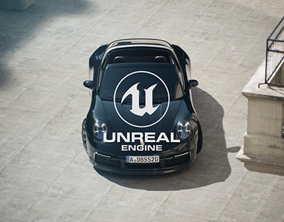 Porsche Targa - Unreal Engine 4 RTX