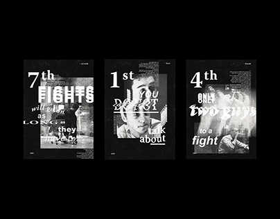 fight club / posters