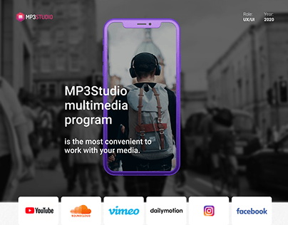 MP3Studio multimedia program