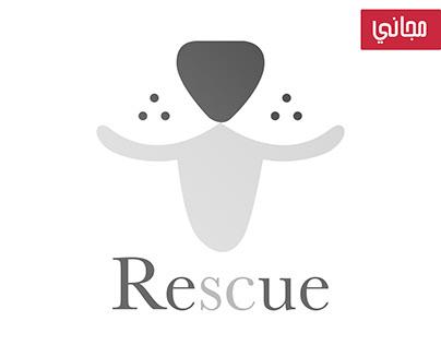 Free Rescue 1 Logo | شعار انقاذ حيوانات مجاني