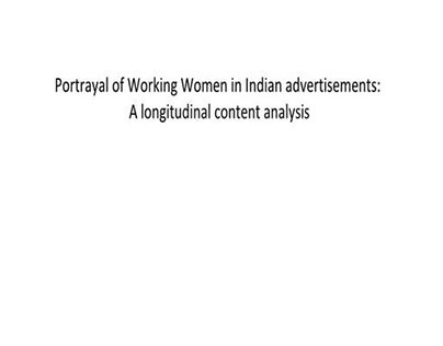 Indian Advertisements:  case study