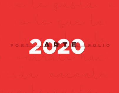 PORTFOLIO 2020 - ARTE