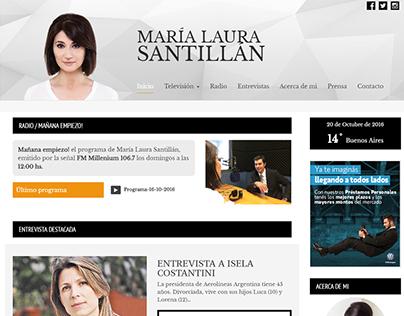 María Laura Santillán,  Journalist - Personal Web Site