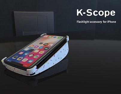 K - Scope | Flashlight Accessory for iPhone