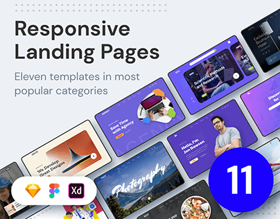 ELEVEN - Responsive Landing Pages