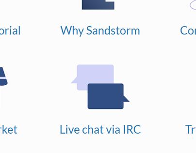 Sandstorm Developer Hub