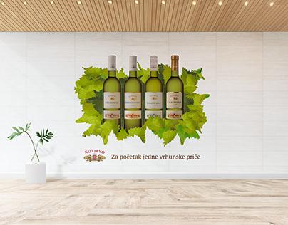 Kutjevo Winery | Graphic Design
