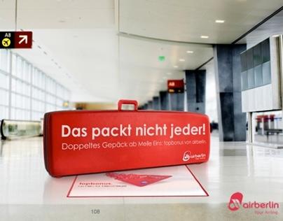 """Air Berlin. Campaign proposal """"Top Bonus"""" 2013."""