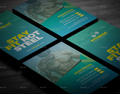 Fitness GYM Business Card