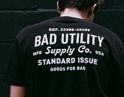 BadUtility TShirt Design