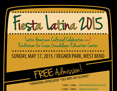 Fiesta Latina Poster