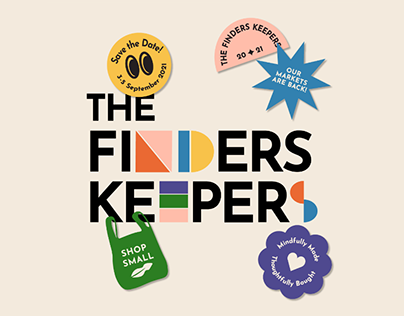 The Finders Keepers Rebrand (personal project)
