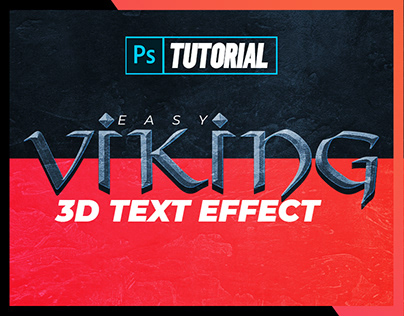 3D Viking Text Effect Tutorial for Adobe Photoshop