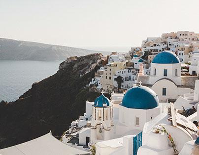 'The Travelling Bag' - Santorini