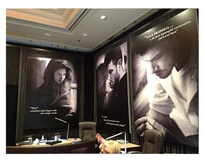 Scott Kay 2012 Room Installation, Couture International