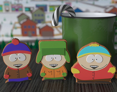 South Park cookies