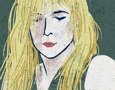 Girl Power - Personal Portrait - Kim Gordon-