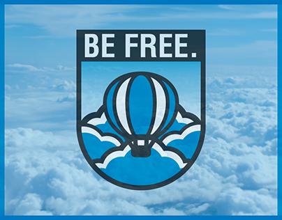 Freedom Balloon - Badge Design