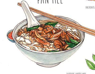 Food Illustration & Drawing
