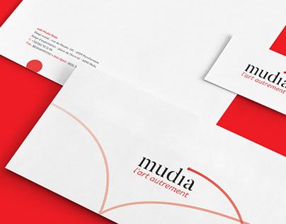 Branding & signage Mudia
