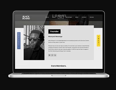 Blackboard NPO Website