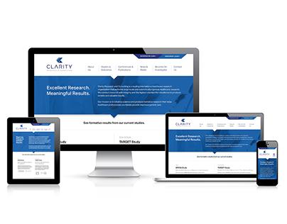 Clarity | Responsive Website
