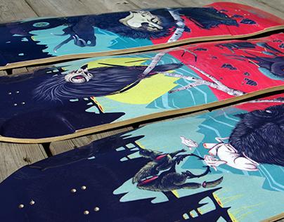 DARKSIDE RITUAL // Rayne Longboards