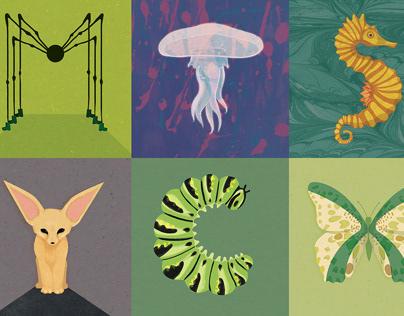 36 Days of Type - Animals and Alphabet